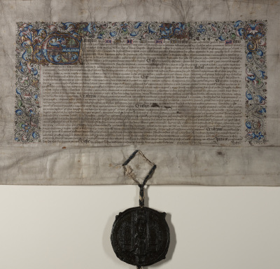 The First Charter granted by King Edward IV on 20th January 1473